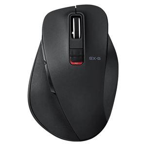 エレコム BlueLEDマウス Mサイズ Bluetooth ブラック M-XGM10BBBK