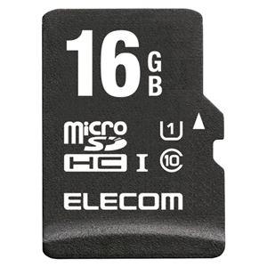 エレコム 高耐久microSDHCメモリカード 16GB MF-AMR016GU11/H