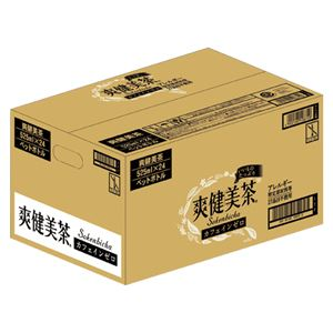 コカ・コーラ 爽健美茶 スッキリブレンド 525ml PET 24本 17218