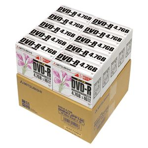 三菱化学メディア PCデータ用DVD-R 100枚入 DHR47JPP10C