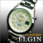 エルジン腕時計 貝パールソーラー電波ウォッチ FK1355S-BRP