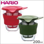 HARIO(ハリオ)ハンディーティーメーカー 200ml HDT-M レッド