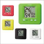CITIZEN(シチズン) 温湿度計 ライフナビD203 緑