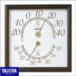 TANITA(タニタ)温湿度計 オフィスキング 5485 ブラウン