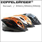 DOPPELGANGER(R) ヘルメット DH003(ブラック/グレー)