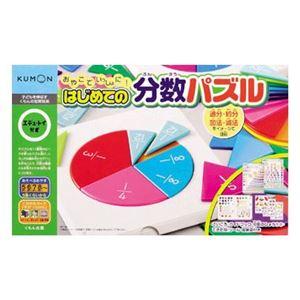 くもん出版 はじめての分数パズル 【知育玩具】