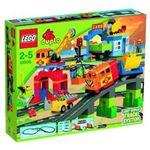 レゴジャパン 10508 デュプロ デラックストレインセット 【LEGO】【デュプロ】