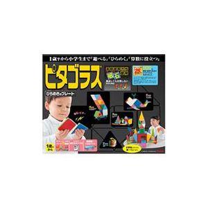 ピープル PGS-119 ピタゴラスひらめきのプレート 【知育玩具】