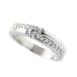 ダイヤモンド リング 0.3ct プラチナ Pt900 ハート&キューピット H&C Hカラー SIクラス 合計0.3カラットアップ ダイヤ 12号 指輪 限定1点限り