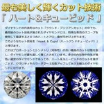 ダイヤモンド ネックレス 一粒 プラチナ Pt900 大粒 1カラット ダイヤネックレス 一点留 Dカラー SI2 Excellent H&C EXハート&キューピット ペンダント 鑑定書付き