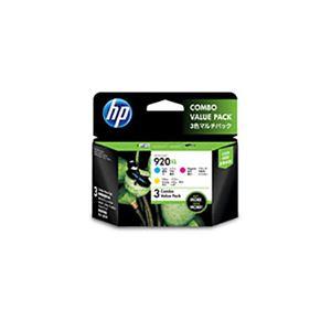 (業務用3セット) 【純正品】 HP インクカートリッジ 【E5Y50AA HP920XL 3色マルチパック】