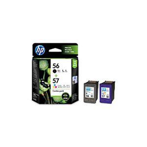(業務用3セット) 【純正品】 HP インクカートリッジ/トナーカートリッジ 【CC629AA HP56/57 ブラック ・ カラーパック】