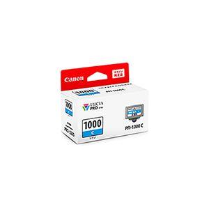 (業務用3セット) 【純正品】 Canon キャノン インクカートリッジ/トナーカートリッジ 【0547C004 PFI-1000C シアン】