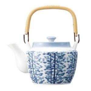 (業務用10セット) ピーアンドエス 8号土瓶 竹林 茶こし網付 10311 【×10セット】