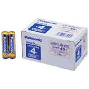 (業務用10セット) Panasonic(パナソニック) エボルタ乾電池 単4 40個 LR03EJN40S ×10セット