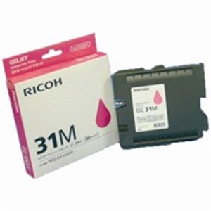 (業務用5セット) RICOH(リコー) ジェルジェットカートリッジ GC31Mマゼンタ 【×5セット】
