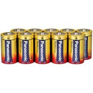 (業務用20セット) Panasonic パナソニック アルカリ乾電池 単1 LR20XJN/10S(10本) ×20セット