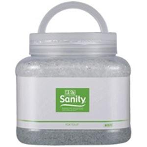(業務用30セット) エステー サニティー 消臭剤1.7kg トイレ森林の香