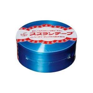 (業務用100セット) CIサンプラス スズランテープ/荷造りひも 【青/470m】 24202014