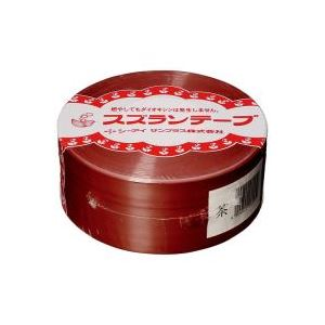 (業務用100セット) CIサンプラス スズランテープ/荷造りひも 【茶/470m】 24202018