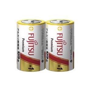 (業務用100セット) 富士通 FUJITSU アルカリ乾電池PREMIUM 単1 2本 LR20FP(2S) ×100セット