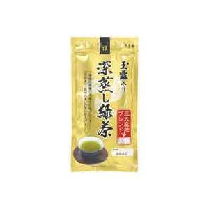 (業務用40セット) 寿老園 玉露入り深蒸し緑茶 雅 100g
