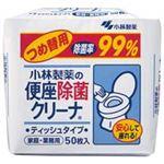 (まとめ買い)小林製薬 便座除菌クリーナーティッシュ 詰替用 50枚【×30セット】