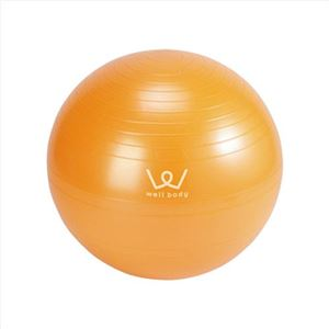 エクササイズボール55cmオレンジ 228-04M