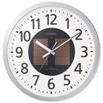 リズム時計 シチズン電波掛時計 4MY815-019