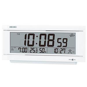 セイコークロック セイコー衛星電波デジタル時計 GP501W