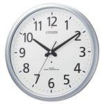 リズム時計 シチズン電波掛時計 8MY493-019