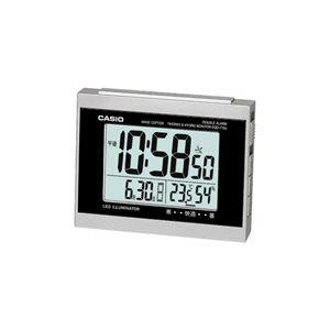 CASIO温度・湿度計付電波置き時計 091-06B