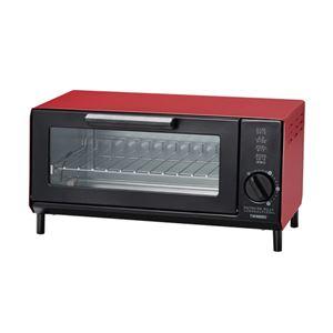 オーブントースター レッド 031-01B