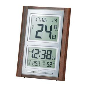 デジタル日めくり電波時計 091-02B