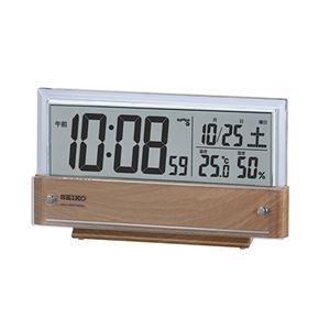 SEIKO液晶電波時計 092-04B