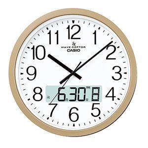 カシオ大型電波掛け時計 341-01B