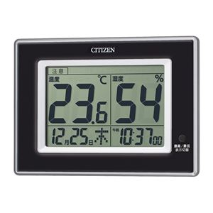 シチズン温湿度計BK 372-08B