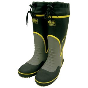 (まとめ)ミドリ安全 鋼製先芯入り安全長靴 MPB-7700 Lサイズ【×5セット】