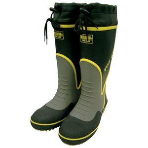(まとめ)ミドリ安全 鋼製先芯入り安全長靴 MPB-7700 LLサイズ【×5セット】