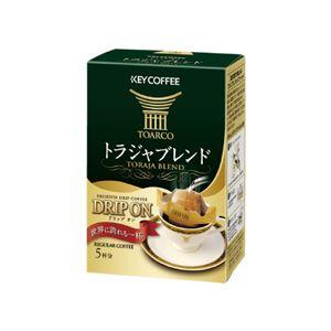 (まとめ)キーコーヒー ドリップオントラジャブレンド5袋入り【×50セット】