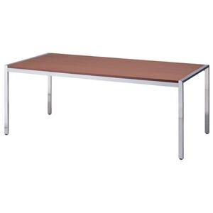 【組立設置費込】ジョインテックス テーブル KE-1890WN ウォールナット