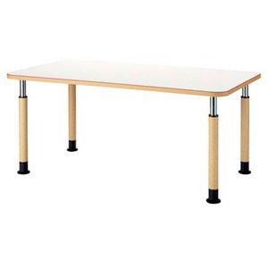 【組立設置費込】FRENZ 昇降式テーブル MK-1690 W