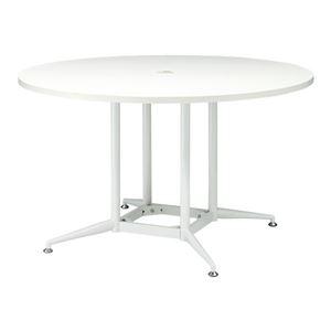 【組立設置費込】アール・エフ・ヤマカワ テーブル RFRDT-OA1200WL ホワイト