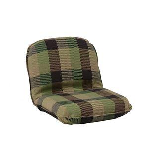 インド綿ウール混座椅子 メルモSS W47cm×D60cm(80)×H39cm(11)×SH11cm グリーン