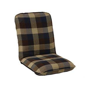 インド綿ウール混座椅子 メルモM W47cm×D69cm(104)×H56cm(12)×SH12cm ブルー