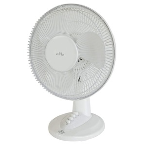 TEKNOS elite お座敷扇 30cm羽根 卓上扇風機 メカ式  ホワイト KI-1000