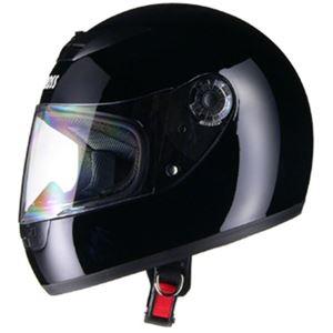 リード工業 (LEAD) フルフェイスヘルメット CR715 ブラックBK フリー