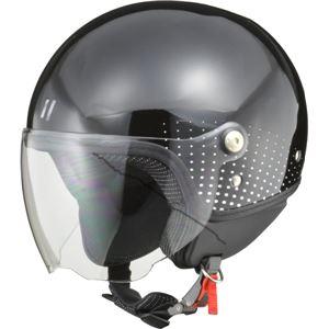 リード工業 (LEAD) ジェットヘルメット PALIO ブラック フリー