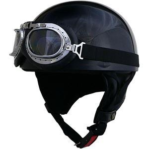 リード工業 (LEAD) ハーフヘルメット CR750 クロメタ フリー