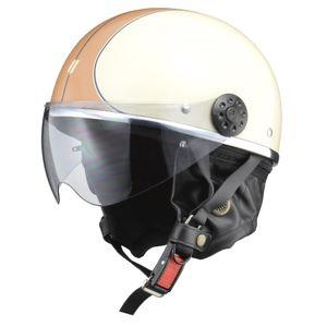 リード工業 (LEAD) ハーフシールド付ハーフヘルメット O-ONE IV/BR フリー